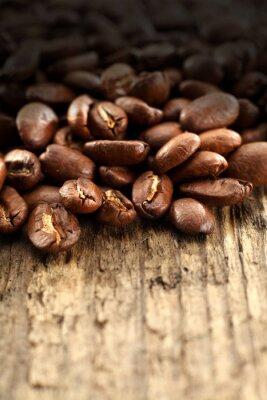 Fototapeta kawa i ciemny cień