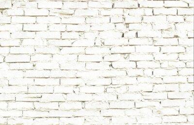 Fototapeta kawałek ściany z białej cegły