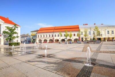 Fototapeta Kielce / Rynek miejski