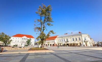 Fototapeta Kielce / Rynek miejski.