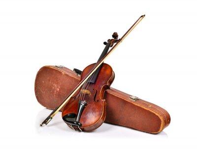 Fototapeta Klasyczne stare skrzypce