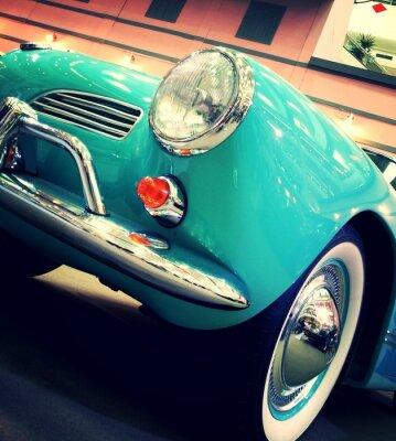 Fototapeta klasyczny samochód