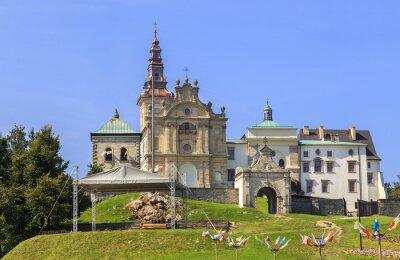 Fototapeta Klasztor i Bazylika na Świetym Krzyżu (Święty Krzyż Klasztor)