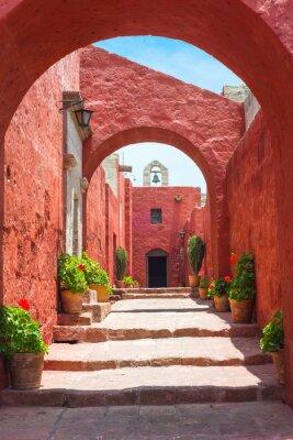 Fototapeta Klasztor Santa Catalina, Arequipa, to najważniejsze reli