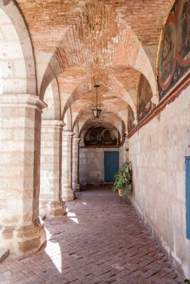 Fototapeta Klasztor Santa Catalina w Arequipa