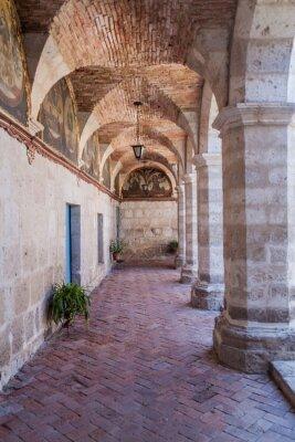 Fototapeta Klasztor w klasztorze Santa Catalina w Arequipa, Peru