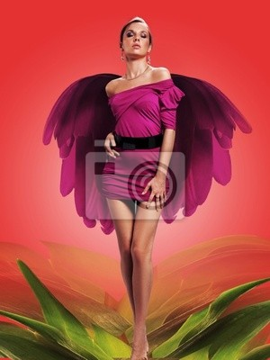 kobieta Flower