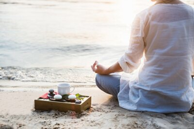 Fototapeta Kobieta medytacji