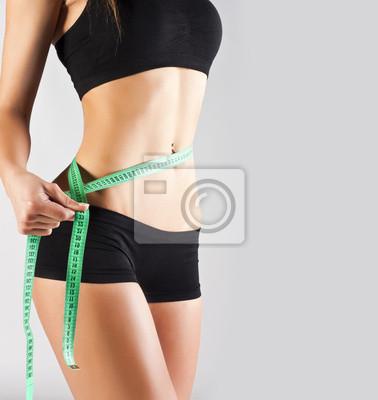 Kobieta pomiaru doskonałe ciała, pojęcie