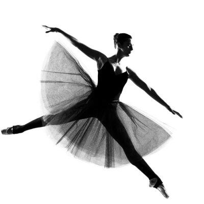 Fototapeta kobieta tancerka baletowa