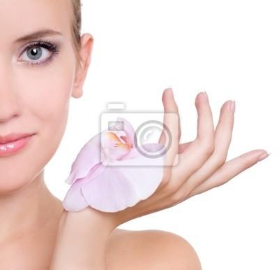 kobieta z Orchidea
