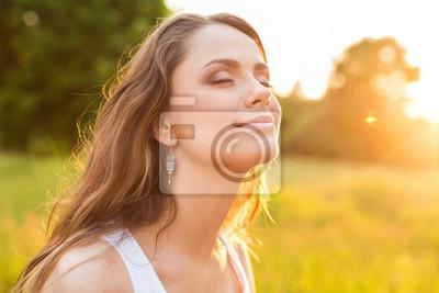 Fototapeta Kobiety, zdrowego stylu życia, niedz
