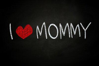 Fototapeta Kocham mamę
