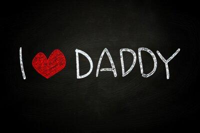 Fototapeta Kocham tatę