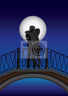 Kochankowie na moście