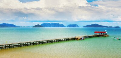 Fototapeta Koh Lanta Pier