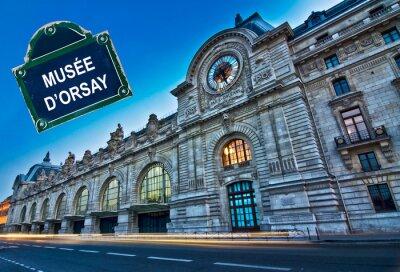 Fototapeta Kolaż pamiątki de Paris, la ville lumiere pocztówka w stylu retro, vintage Proces