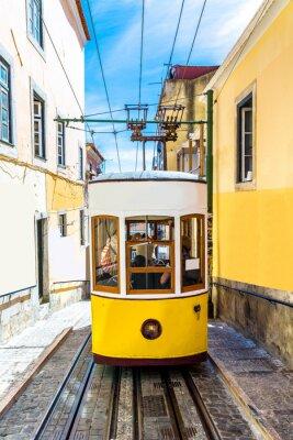Fototapeta Kolejki Lizbony Gloria