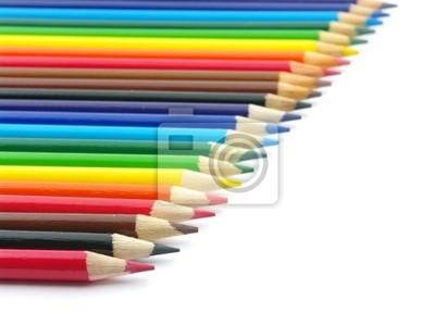 Fototapeta Kolor ołówki