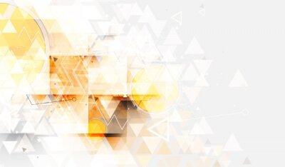 Fototapeta Kolorowe abstrakcyjne geometryczne tło dla projektu