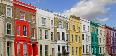 Fototapeta kolorowe domy
