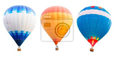 Fototapeta Kolorowe gorące powietrze balony