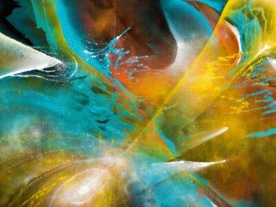 Fototapeta Kolorowe graffiti