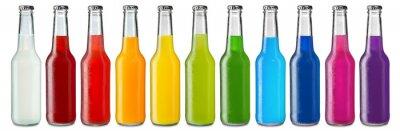 Fototapeta kolorowe napoje gazowane