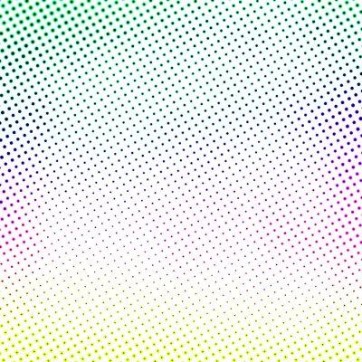 Fototapeta kolorowe półtonów