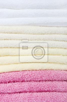 kolorowe zbliżenie ręczniki