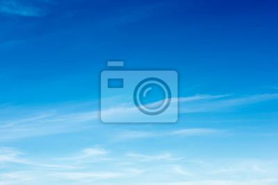 Fototapeta Kolorowy Piękny niebieskie niebo z obłocznym formaci tłem