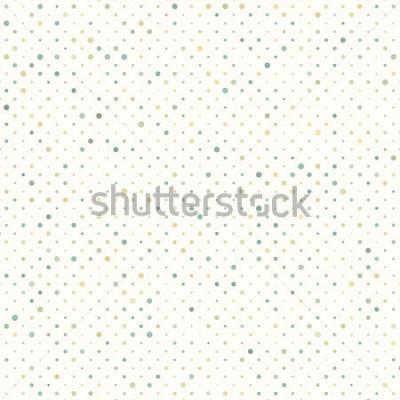 Fototapeta Kolorowy wzór kropki. Zawiera również wektor EPS 8