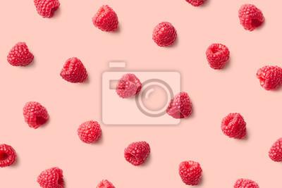 Fototapeta Kolorowy wzór malin