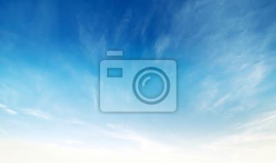 Fototapeta Kolory w niebie i chmur
