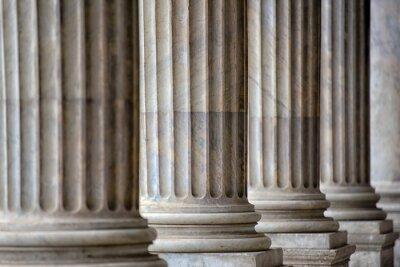Fototapeta Kolumnada W Rzymie Zamknąć