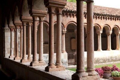 Fototapeta Kolumnady, Kościół San Zeno, Werona