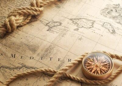 Fototapeta kompas