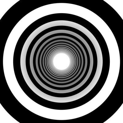 Fototapeta koncentryczne okręgi