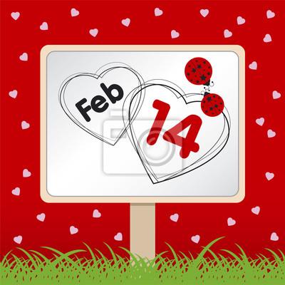 Koncepcja miłości na Walentynki