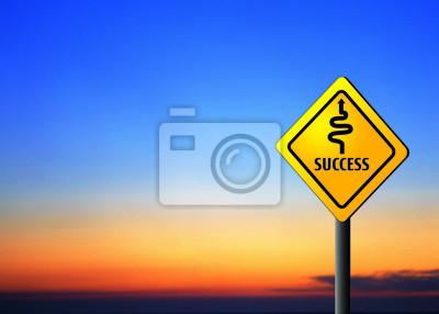 Koncepcja sukcesu - trudna droga do sukcesu