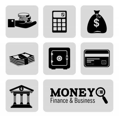 Fototapeta Konstrukcja pieniędzy
