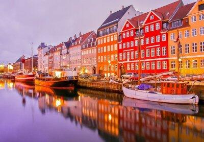 Fototapeta Kopenhaga, Dania.