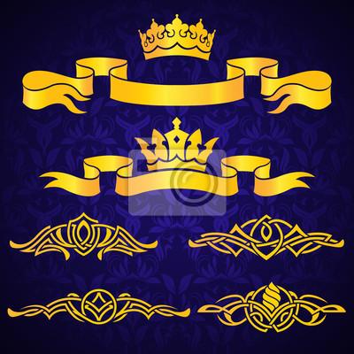 Korony złota i Winiety