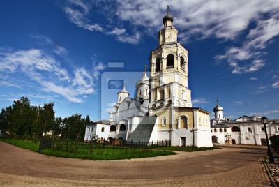 Fototapeta Kościół chrześcijański błękitne niebo
