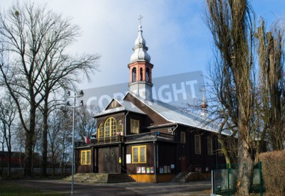 Fototapeta Kościół Najświętszego Odkupiciela w Łodzi - Polska