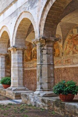 Fototapeta Kościół św Maria delle Grazie. Manduria. Puglia. Włochy.