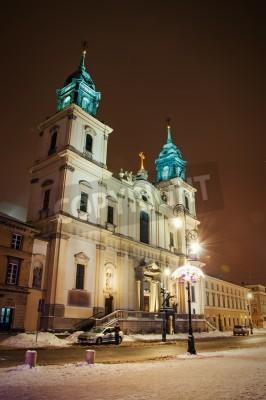 Fototapeta Kościół Świętego Krzyża, Warszawa, Polska