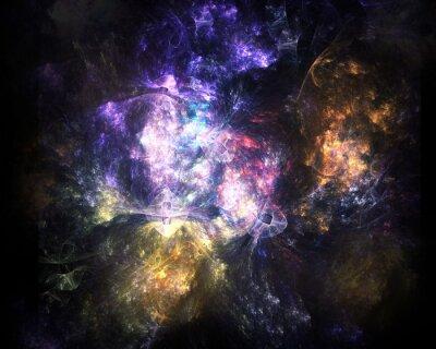 Fototapeta Kosmiczna eksplozja