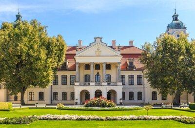 Fototapeta Kozłówka - Pałac Zamoyskich, rokoko i duża pałac klasycystyczny kompleks znajduje się w województwie lubelskim, w Polsce.