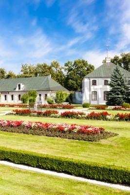Fototapeta Kozłowski pałac z ogrodem, województwo lubelskie, Polska
